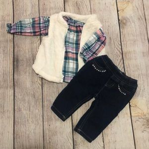 Three piece girls outfit